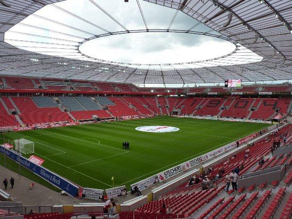 Stadium Leverkusen Bayer 2017/2018 BayArena  Stadium - Map