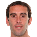 Diego Godin of Atletico Madrid