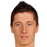Robert Lewandowski of Bayern Munich