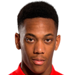 Anthony Martial of Man Utd