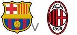 Barca Milan live