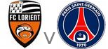 Lorient Paris St Germain live