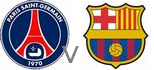 Paris St Germain Barca live
