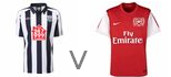 West Brom Arsenal live